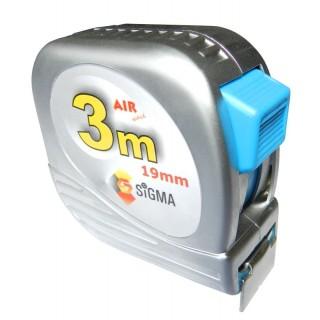 Рулетка полотно с нейлоновым покрытием 3м х 19мм Sigma (NX3019z)