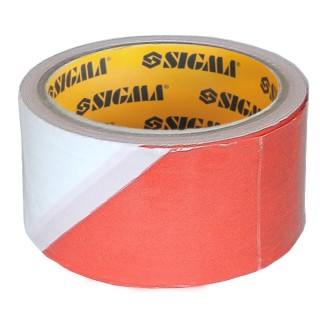 Стрічка сигнальна 72мм×100м Sigma (8423591)