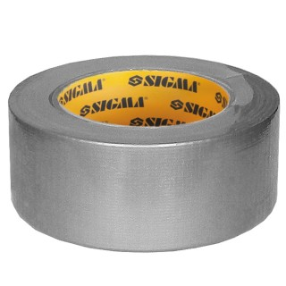 Армована стрічка (сіра) 50ммх10 м Sigma (8419021)